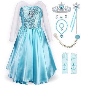 Little Girls Princess Fancy Dress Costume